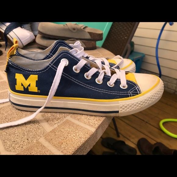 ed55c6da5343 university of michigan converse shoes  UP to 34% off